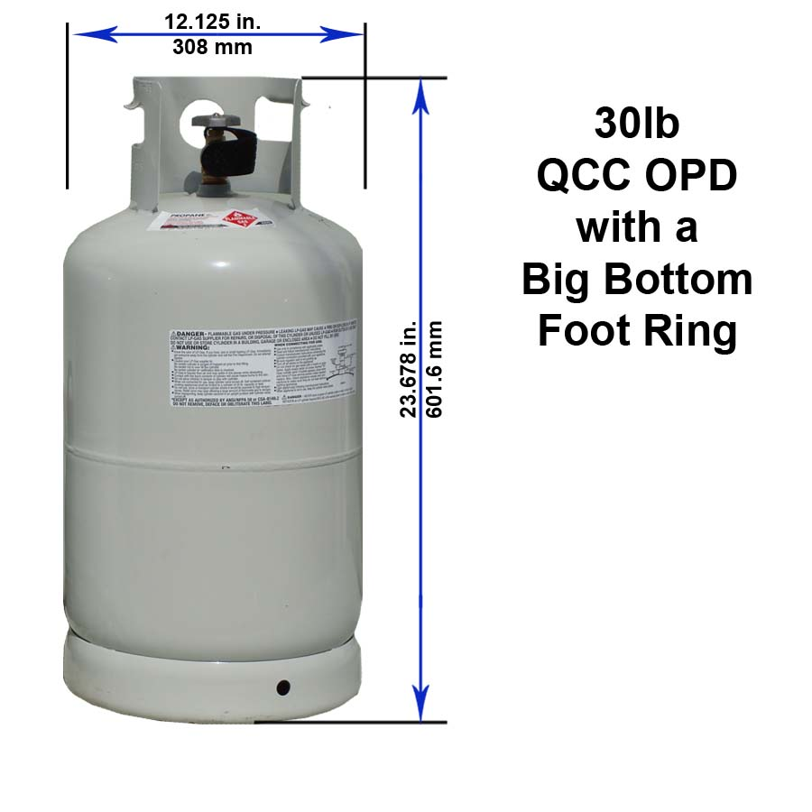 30 Lb Qcc Opd With A Bottom Foot Ring