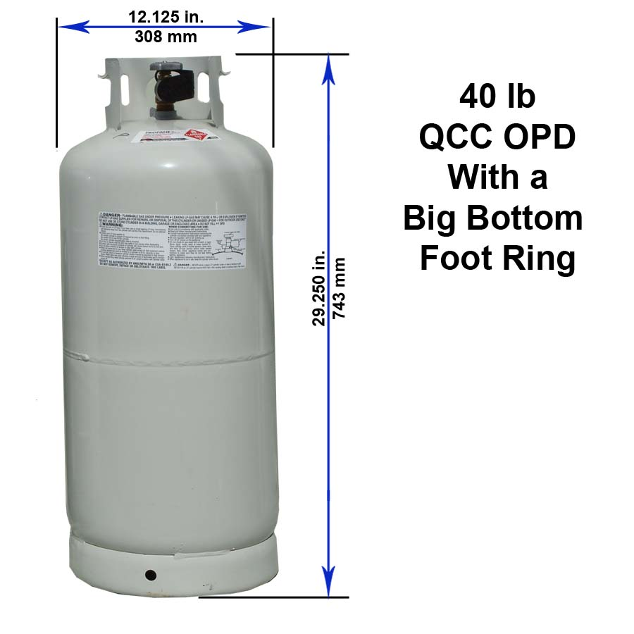 Propane Tank Sizes Filled And Sold