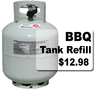 Tulsa Power Service Tanks & Refills - Chicago Propane gas